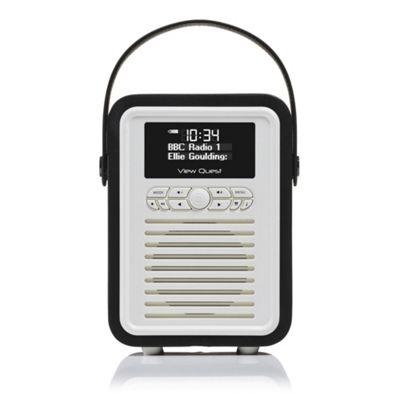 VQ Retro Mini Radio, Black