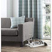 Curtina Braemar Check Duck Egg Cushion Cover - 43x43cm