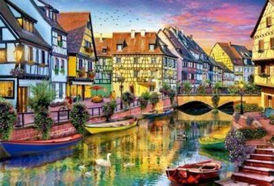 Colmar Canal - France - 4000pc Puzzle