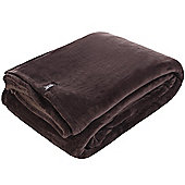 Belledorm Heat Holder Blanket - Hot Chocolate