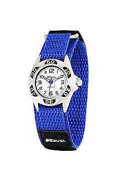 Boys Blue Velcro Strap Watch