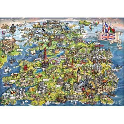 Beautiful Britain - 1000pc Puzzle