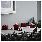 Tesco Christmas Set of 4 Present Tealights