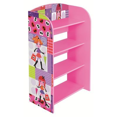 Liberty House Fashion Girl 4 Tier Bookshelf
