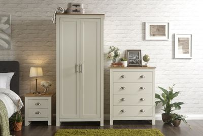 Lancaster 3 Piece Bedroom Set Cream