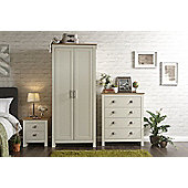 Lancaster 3 Piece Bedroom Set Cream