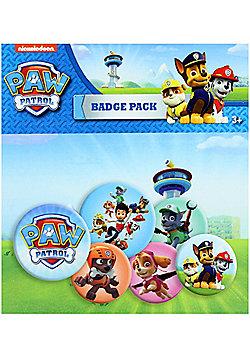 Paw Patrol Mix Badge Pack - Multi