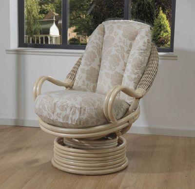 Desser Dijon Swivel Rocker Conservatory Chair