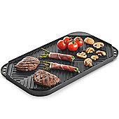 VonShef Reversible Aluminium Griddle Plate Pan
