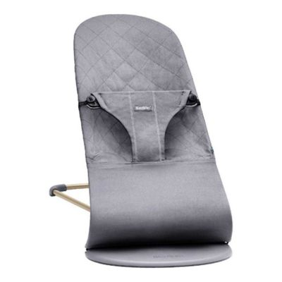 BabyBjorn Bouncer Bliss (Anthracite Cotton)