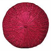 Riva Home Wellesley Raspberry Round Cushion 40cm