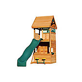 Selwood Orton Climbing Frame With Slide, Rock Wall and Seating