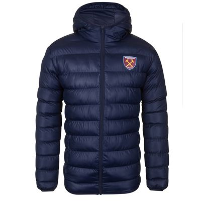 West Ham United FC Mens Quilted Jacket Small
