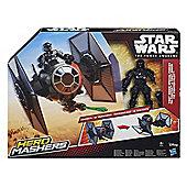 Star Wars Hero Mashers Episode VII TIE Fighter and TIE Fighter Pilot - Action Figures