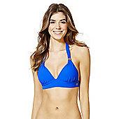F&F Luxury Halterneck Bikini Top - Cobalt blue