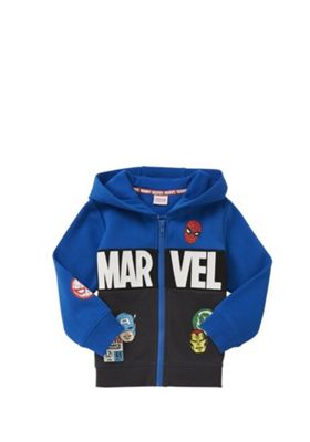 Marvel The Avengers Zip-Through Hoodie Multi 12-18 months