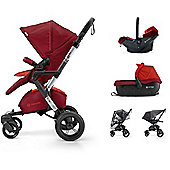 Concord Neo Travel Set (Flaming Red)