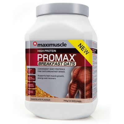 Promax Breakfast Oats 700g Chocolate