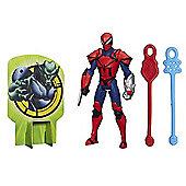 Marvel Ultimate Spider-Man Web Warriors - Spider Knight Figure