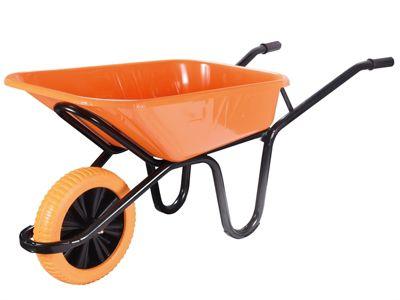 Walsall 90L Extra Heavy-Duty XL Workhorse Wheelbarrow - Puncture Proof