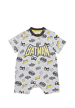 DC Comics Batman Romper - Grey