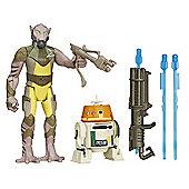 Star Wars 2 Figure Pack - Garazeb Orrelios & C1-10P