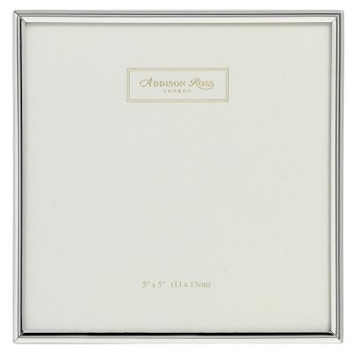 Addison Ross Essentials Photo Frame Silver Plate Frame - 2 in x 3 in