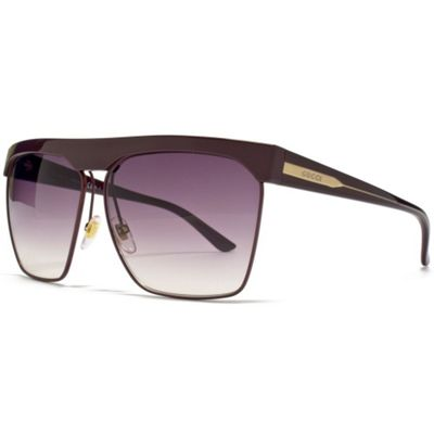 Gucci Sunglasses Visor in Purple with a Gradient Purple Lens