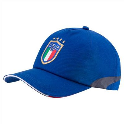 Puma Italy Italia FC 2017/18 Official Supporters Football Cap Hat Blue