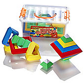 Learning Minds Mega Wedge Blox Building Tub - 30 Pieces