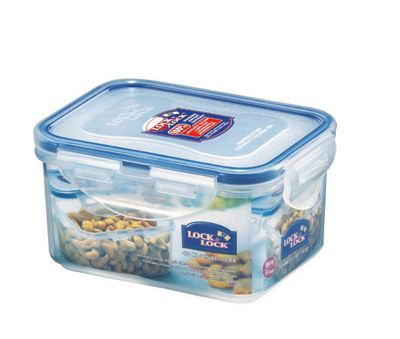 Lock & Lock 470ml Rectangular Food Container (Set of 6)