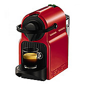 Krups XN100540 Inissia Coffee Machine with 1260W Power and 19 Bar Pressure in Red