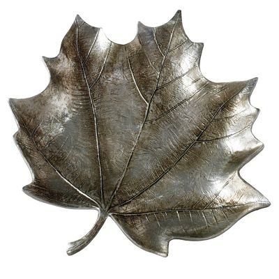 Gallery Direct Maple Leaf Silver