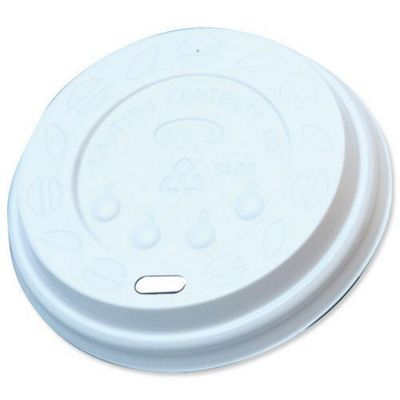 Sip-through Lids for R2Go 12oz Paper Cups White Ref SIPTHRO12 [Pack 100]