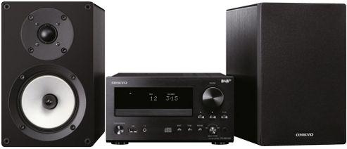 ONKYO CS555DAB CD/FM/MP3/DAB+ MINI SYSTEM (BLACK)