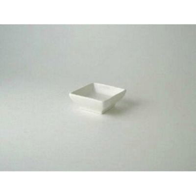 MW White Dish Square 7cm