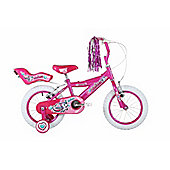 "Bumper Trixie 18"" Wheel Kids Pavement Bike Pink"