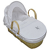 PreciousLittleOne Moses Basket (I Believe Silver)
