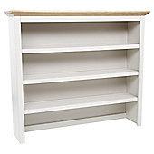 Hardwick Pine & Grey Dresser Shelf Extension for Sideboard