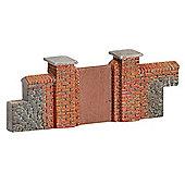 Hornby Skaledale R8979 Brick Walling Gates Piers - Oo Gauge Buildings
