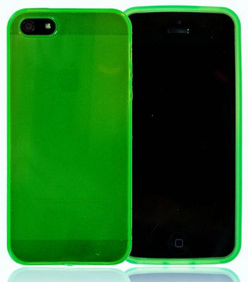 U-bop gSHELL Tough All-Body Gel Case Smoke Green - For Apple iPhone 5