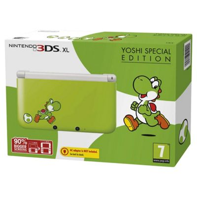 3DS XL Console Yoshi Edition
