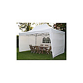 Airwave Pop Up Gazebo Fully Waterproof 4.5x3m in White