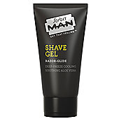 Shaving Gel - Razor Glide Shave Gel Shaving Gel for Men - 150ml - Sorbet MAN