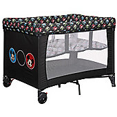 OBaby Disney Bassinette Travel Cot (Mickey Circles)