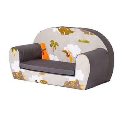 Jurassic Soft Foam Toddlers Sofa 2 Seater