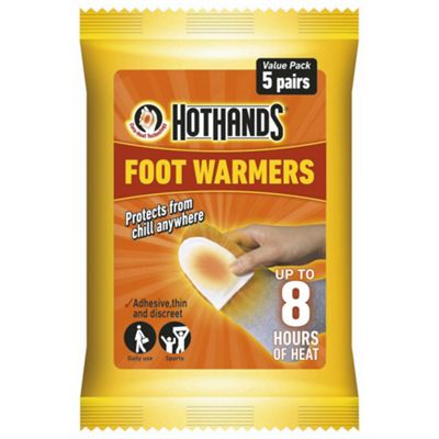 Hot Hands Foot Warmers, 5 Pairs
