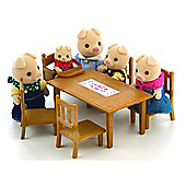 Sylvanian Families Family Table And Chairs