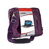 Navitech Purple Laptop Tablet Case Bag Pouch For The ASUS TP200SA 10.1 inch