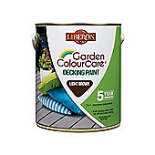 Liberon Decking Paint Light Brown 2.5 Litre